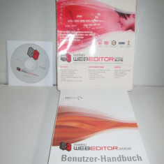 NAMO- WEB Editor-2006 Germania. Editor de pagini web. - Software Grafica