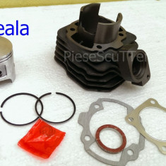 Set cilindri Moto - Kit Cilindru - Set Motor Scuter Peugeot Splinter 80cc - 47mm - RACIRE AER