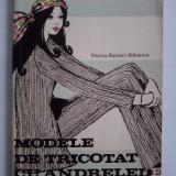 Carte design vestimentar - Modele de tricotat cu andrele - Viorica Bociort Stanescu (croitorie) / C33P