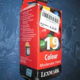 Lexmark 19 cartus color. P700, P3100, X4200, 2705, 2707. - Cartus imprimanta