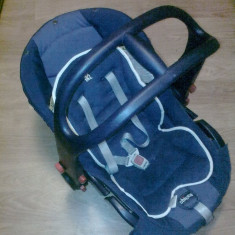 Scaun auto Chicco - Scaun auto bebelusi grupa 0+ (0-13 kg) Chicco, 0-6 luni, Albastru, Isofix, In sensul directiei de mers
