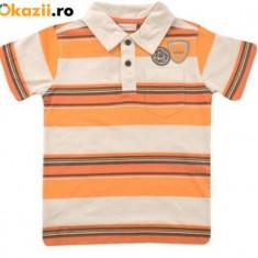 Haine Copii 10 - 12 ani, Tricouri, Baieti - Nou! Tricou cu guler cu dungi, marca Bonaparte, baieti 10 ani