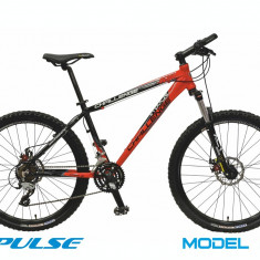 Bicicleta mountainbike DHS-2687 Impulse Challenge 2013 21viteze aproape nou, Aluminiu, Negru-Rosu, MTB XC Hardtail