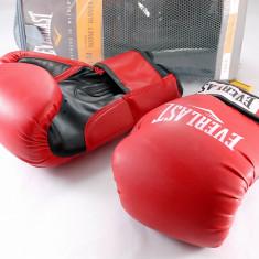 Everlast - Manusi de box Rodney 14 oz - pt antrenament - calitate excelenta - - Manusi box
