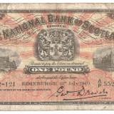 SCOTIA NATIONAL BANK OF SCOTLAND LIMITED 1 POUND LIRA 1940 U, Europa