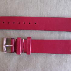 Curea ceas piele - Curea ceas barbatesc firma Bros, originala din piele naturala