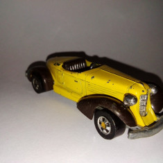 Macheta Hot Wheels- Auburn 852, 1978 - Hong Kong - Macheta auto Hot Wheels, 1:64