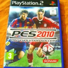 Jocuri PS2 Altele, Sporturi, 3+, Multiplayer - Joc Pro Evolution Soccer PES 2010, PS2, original, 39.99 lei(gamestore)!
