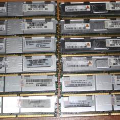Memorie server Samsung 2G 2Rx8 PC2-5300F-555-11 - testate - Garantie 12 luni, DDR2, 667 mhz