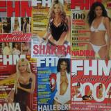Revista barbati - Vand lot 15 reviste FHM complete, stare ca noi + bonus