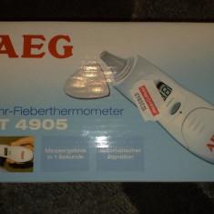Termometru Digital cu Infrarosu pentru Ureche AEG FT 4905 - Termometru copii Altele