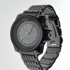 Ceas unisex model Dolce Gabbana negru metalic cutie cadou - Ceas barbatesc