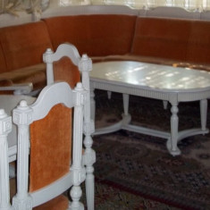 Mobila living sculptata - Set mobila living