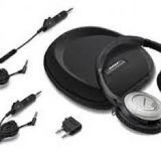 Bose quietcomfort 15 - Casti Bose, Cu fir, Jack 2, 5mm, Active Noise Cancelling