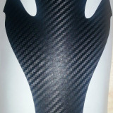 Protectie rezervor moto - Tank Pad Sticker - Carbon 3D - model 2