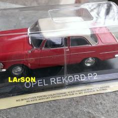 Macheta auto, 1:43 - Macheta metal DeAgostini - Opel Rekord P2 - NOUA din colectia Masini de Legenda