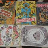 LOT 7 almanahuri ALMANAHUL COPIILOR 1979, 1982, 1983,  1984, 1985,1986, 1987