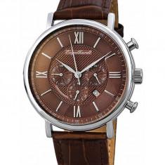 Ceas de lux Engelhardt Raymond Steel Brown, original, nou, cu factura si garantie! - Ceas barbatesc Engelhardt, Quartz