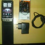 Htc desire A8181 g7 + casti dop (canyon) + toc flip - Telefon mobil HTC Desire, Negru, Neblocat, AMOLED