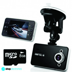 Camera video auto - Camera Video DVR Auto Full HD 1080P | NOUL Model 2014 - Lentila SAMSUNG | Card 8GB GRATUIT | Martor accident | Night Vision | Garantie 12 luni+ CADOU