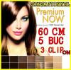Extensii par BeautyUkCosmetics Extensie banda 3 clipsuri 5 piese kanekalon