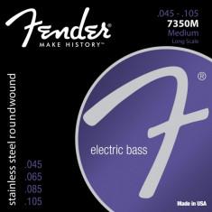 Corzi chitara bass Fender 7350M Stainless Steel Roundwound 45-105