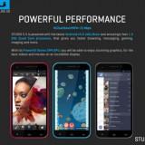 BLU Studio 5.5 SMart DUAL SIM - Telefon mobil Dual SIM, Gri, 4GB, Neblocat, Dual SIM, Quad core
