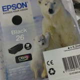 Cartus Epson Polar Bear Black 26 original - Cartus imprimanta