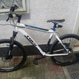 Mountain Bike, 19 inch, 26 inch, Numar viteze: 24, Aluminiu, Alb-Albastru - Trek 4300 series