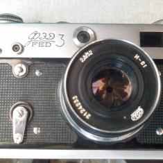 APARAT FOTO VECHI PE FILM FED 3 - Aparat de Colectie