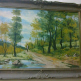 Pictura ulei/panza - Pictor roman