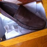 Pantofi piele GASTRO MAN, marimea 44, culaore maro