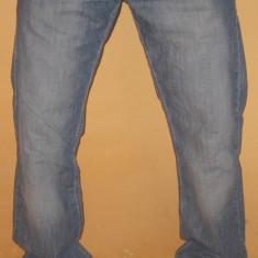 Blugi barbati, Marime: 33, Lungi, Drepti, Normal - Blugi Originali ARMANI Jeans W 33 L 34 Clasici / Eleganti / Simpli ( Talie 92 / Lungime crac 85 / Lungime totala 112 )