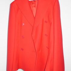 SUPER OCAZIE!! - Costum dama Christian Dior, Marime: 46, Culoare: Rosu, Costum cu fusta
