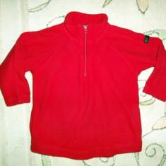 Bluza de polar rosie, marca Old Navy, baieti 4 ani, Culoare: Rosu