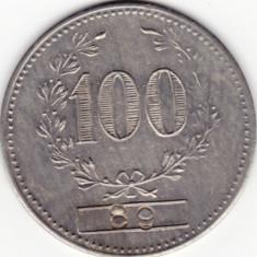Jetoane numismatica - 3-JETON MERCUR-valoare 100-numerotat-89---probabil cazino...