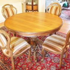 Mobilier - Set masa cu patru scaune Rococo