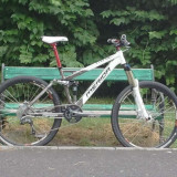 Bicicleta MERIDA Full Suspension - Mountain Bike, 18 inch, 26 inch, Numar viteze: 21, Aluminiu, MTB Full Suspension