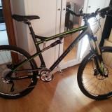 BICICLETA Haibike Sleek MTH SL (49cm) - Mountain Bike, 18 inch, 26 inch, Numar viteze: 21, Aluminiu, MTB Full Suspension