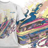Tricou personalizat 1975 Original printeo