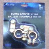 Electrica auto - Borne baterie auto - set