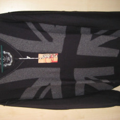 Pulover Marca GUESS 100% ORIGINAL Culoare Neagru Slim fit Marime L cumparat SUA - Pulover barbati Guess, Marime: L, Culoare: Negru, Anchior, Lana