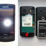 Telefon Samsung, Negru, 1GB, Vodafone, Single core, Nu se aplica - Vand Samsung I6410 ( Vodafone 360 M1 ) pentru piese sau pentru a fi reparat!