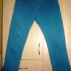 Diesel pantaloni chino barbatesti - Pantaloni barbati Diesel, Marime: 33, Culoare: Albastru, Albastru, Lungi