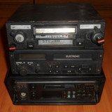 Radio casetofon Auto Romanesc - STELA ACORD,vechi. Radiocasetofon de masina,de colectie,vintage.OPEL M101,PHILIPS 575.