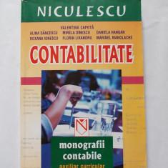 CONTABILITATE MONOGRAFII CONTABILE AUXILIAR CURRICULAR -EDITURA NICULESCU - Carte Contabilitate