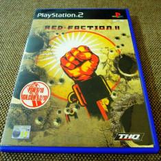 Joc Red Faction II, PS2, original, 14.99 lei(gamestore)! Alte sute de jocuri! - Jocuri PS2 Thq, Actiune, 12+, Single player