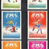 Timbre Romania - CM fotbal Argentina, 1978