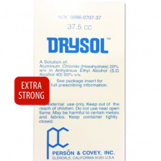 Antiperspirant Drysol Extra Strong 37.5ml - Impotriva Transpiratiei Excesive
