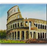 Colosseum (tablou ulei 60x50cm) LIVRARE GRATUITA 24-48h, An: 2012, Peisaje, Altul